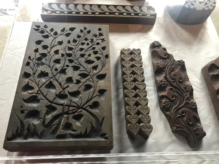 Wooden matrixes for fabric printing