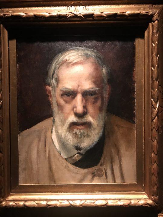 Mariano Fortuny, Self portrait