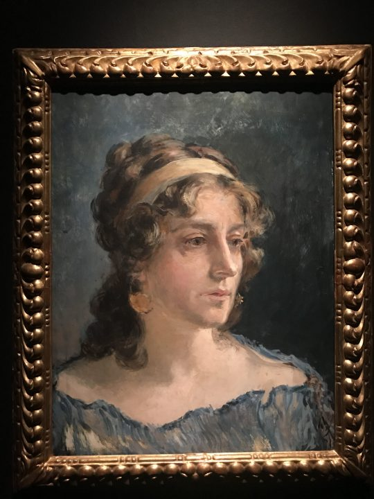 """Mariano Fortuny, """"Portrait of his wife Henriette"""""""