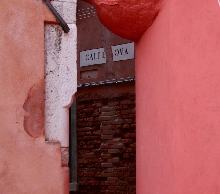 Streets' corners in Cannaregio, Venice