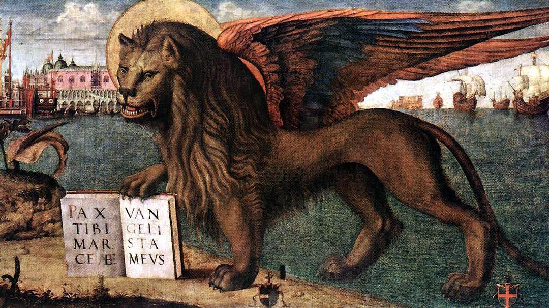 ¿Por qué en Venecia los leones tienen alas?