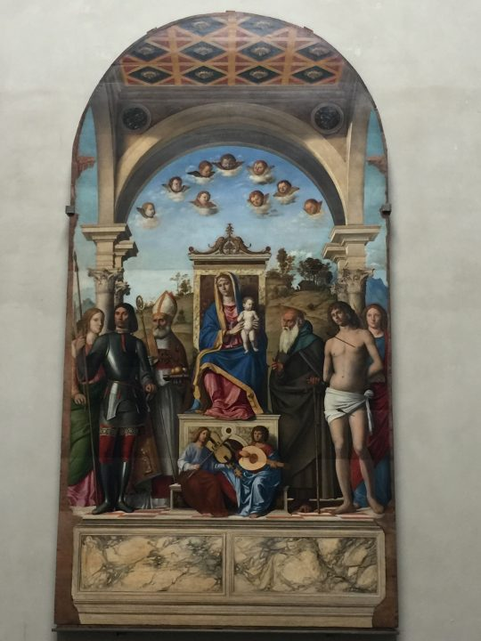 photo 19) Cima da Conegliano: Madonna and Child on the Throne
