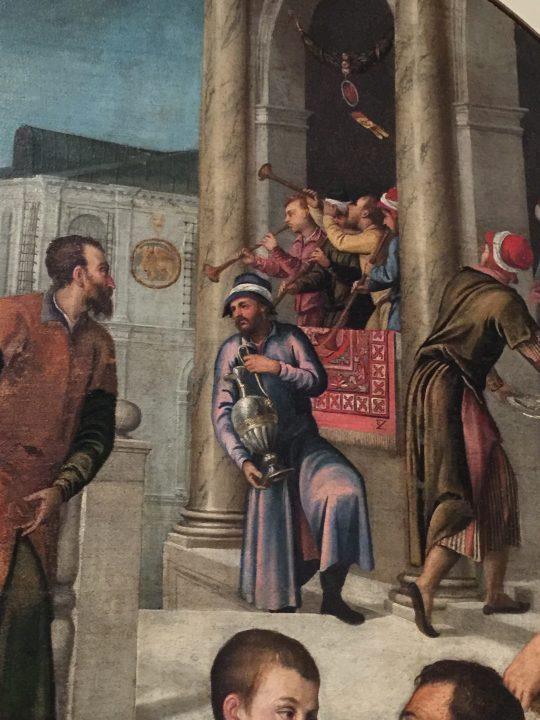 photo 25) Bonifacio de 'Pitati : Salomone et la reine de Saba ; détail