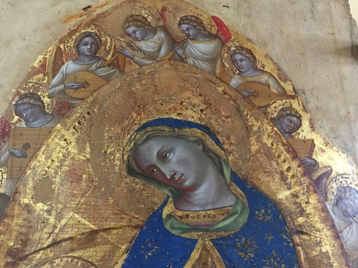 photo 6) Lorenzo Veneziano: Wedding of Saint Catherine; detail