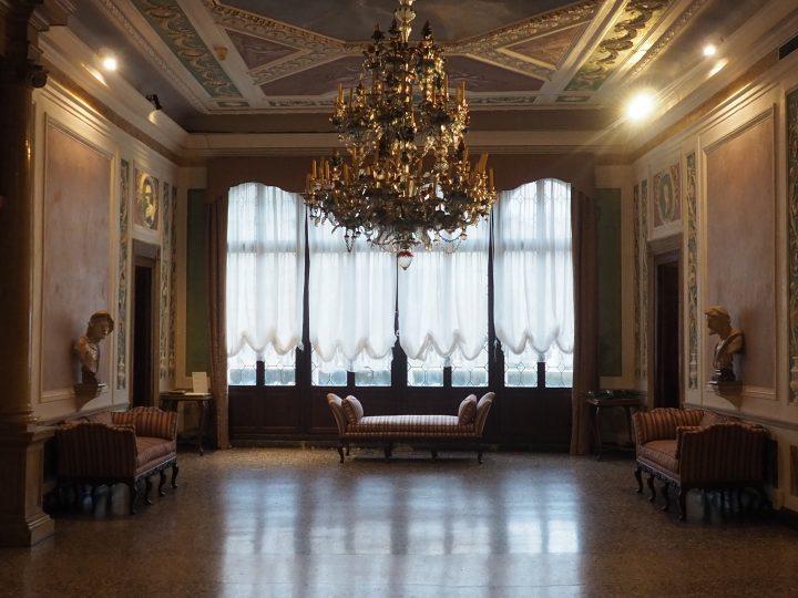 'portego' main hall of Palazzo Querini Stampalia in Venice