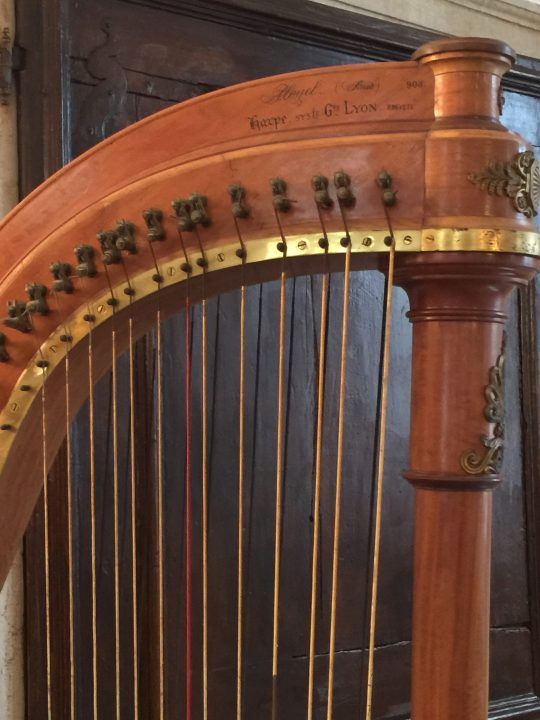photo 10) detail of the Pleyel