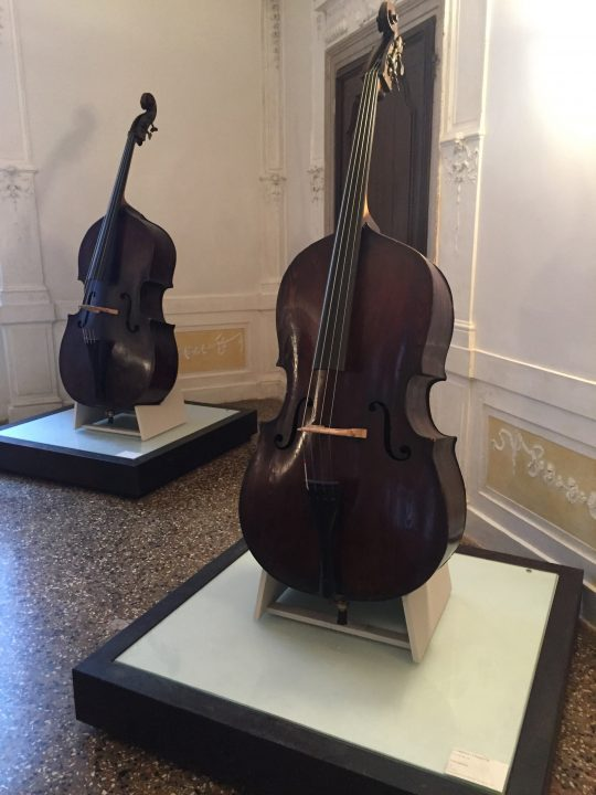 photo 12) two 18th-century double basses