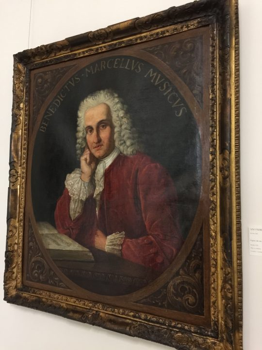 photo 23) without detracting from the importance of B. Marcello, depicted here, we must remember that when his name was picked for the Conservatory, Vivaldi had almost been completely forgotten