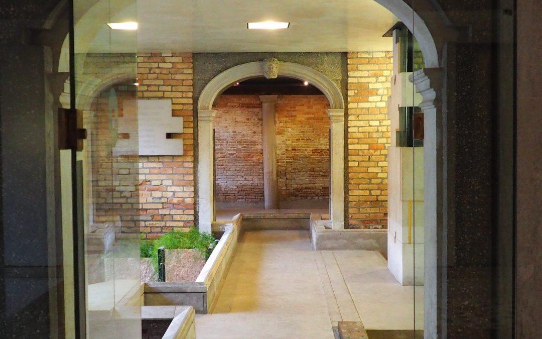 Carlo Scarpa und das Erdgeschoss vom Palazzo Querini Stampalia in Venedig