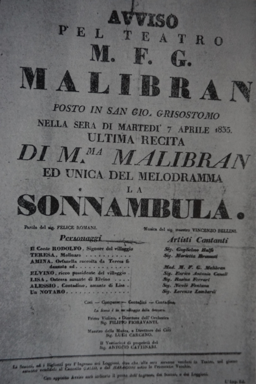 pamphlet, Malibran Theatre, 1919,Venice