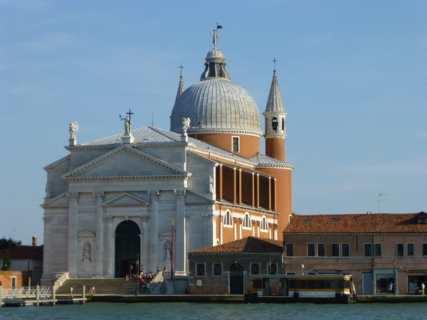 The Redeemer Church in Giudecca island. Architect Andrea Palladio