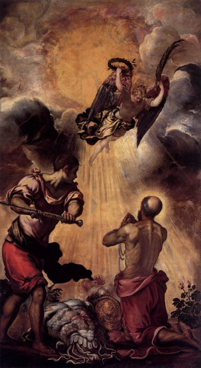 Jacopo Robusti Il Tintoretto, Martyrdom of St. Paul, 1552-1553