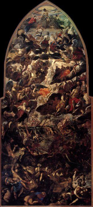 Jacopo Robusti Il Tintoretto, The Last Judgement, 1562-1563