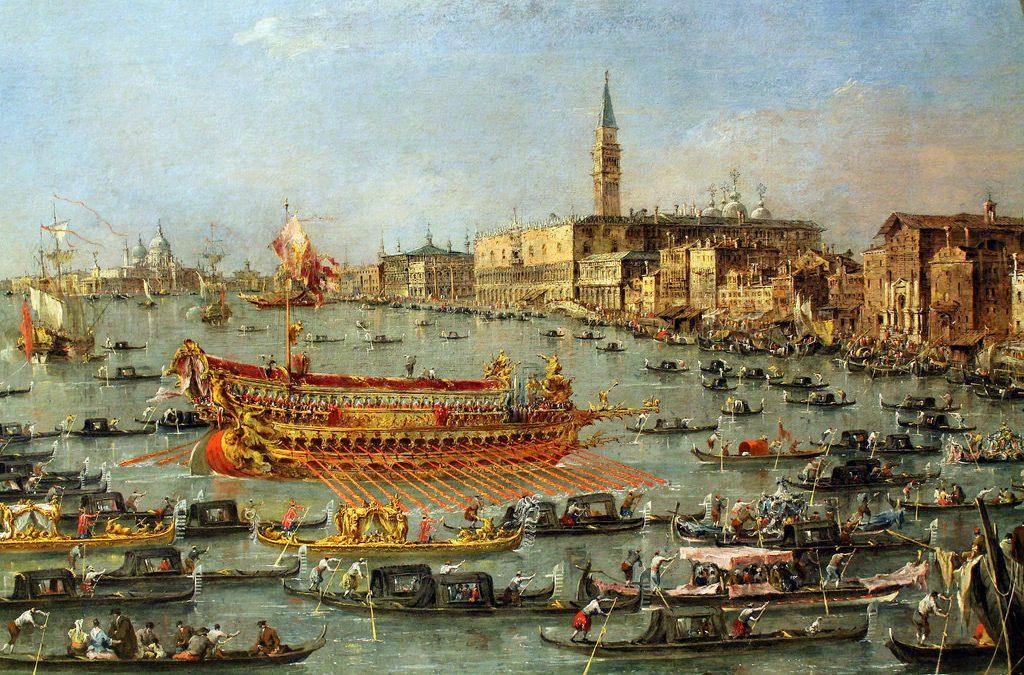 Une ville qui épousa la mer: la fête de la Sensa