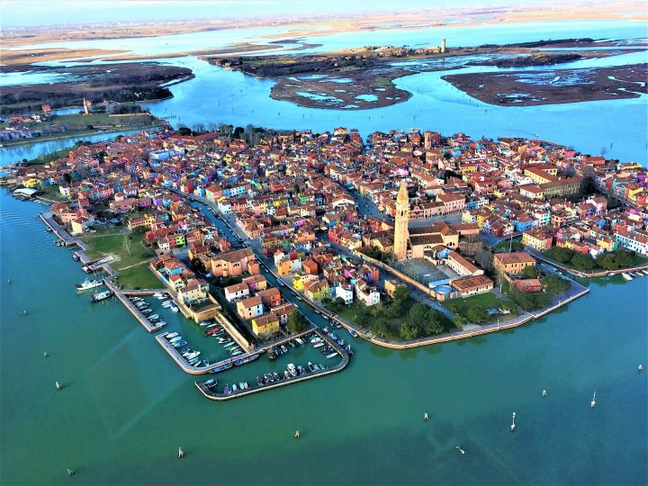 the charming island of Burano