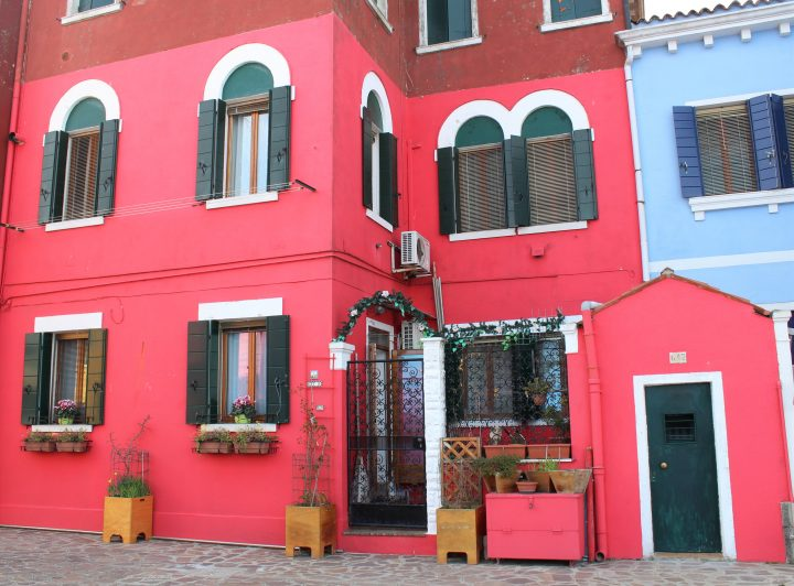 amazing coloured houses in Burano