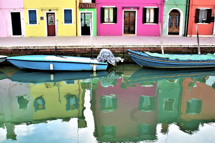 reflections in Burano