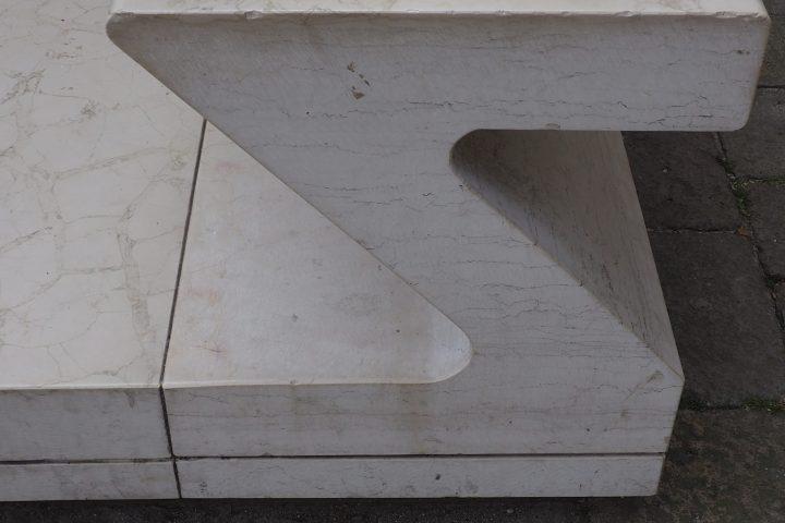 detail of the new bridge