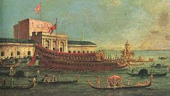 Johann von Lobkovicz zum Hassenstein auf der Wallfahrt von Venedig ins Heilige Land.