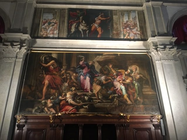 Saint Roch and Saint Martin painted by Antonio de Sacchis, il Pordenone