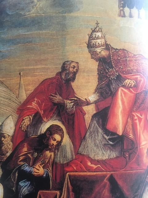 Jacopo Tintoretto, Saint Roch healing the Bishop, Venice