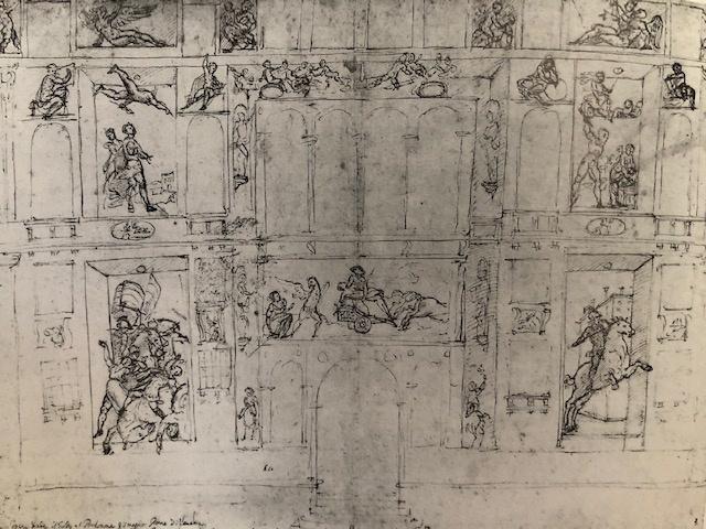 Palazzo D'Anna, drawing