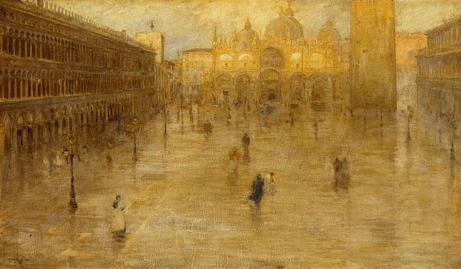 St. Mark's Square, 1899, Fragiacomo