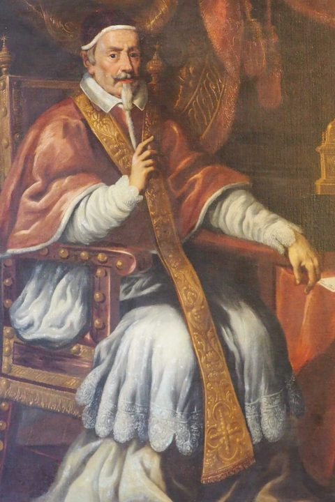 painting representing Pope Clement X