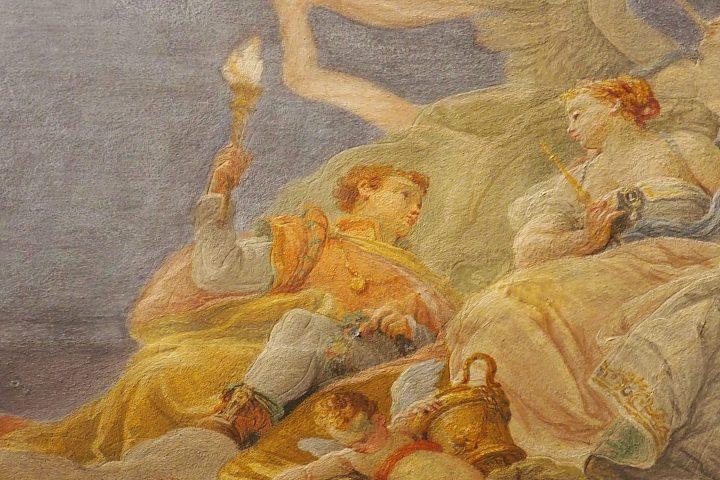 Hymen frescoed by Scajaro