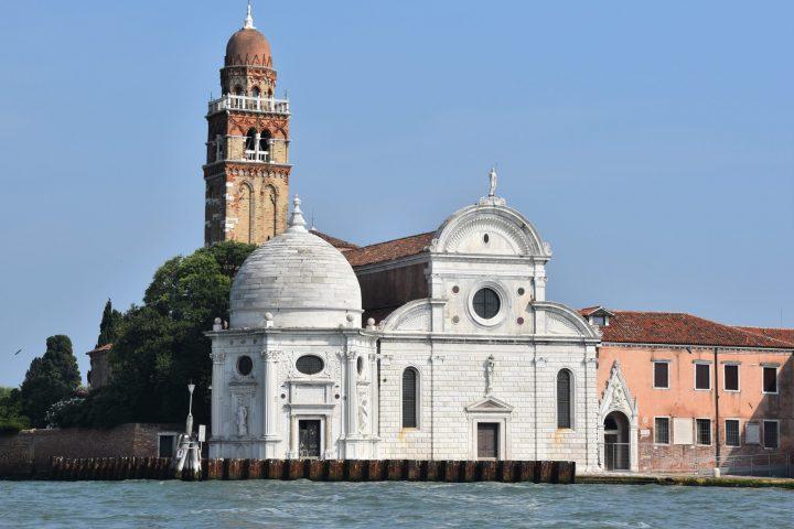 the façade of San Michele church