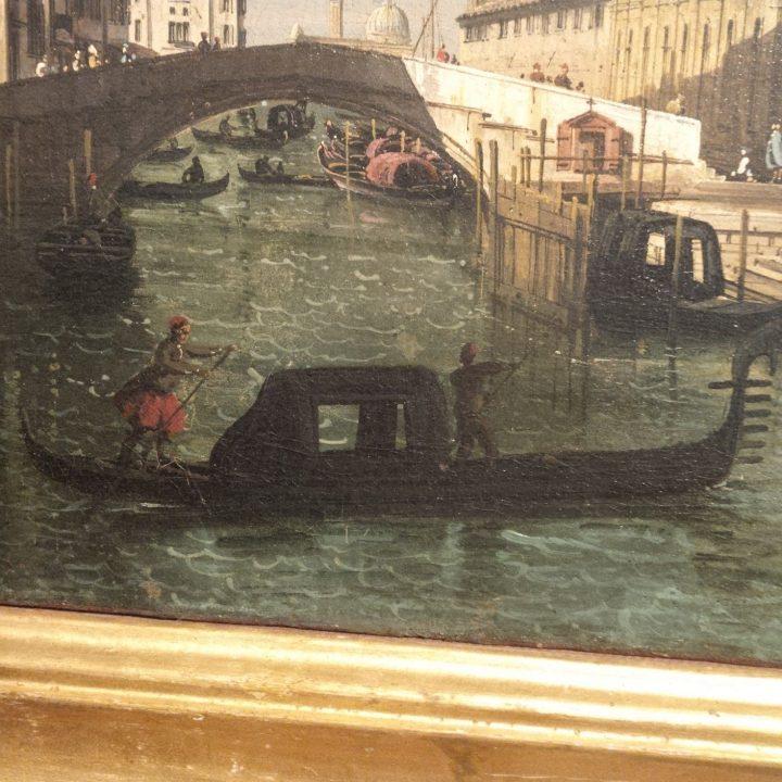 Bernardo Bellotto, Le rio dei Mendicanti et la Scuola Grande di San Marco, 1740, Galeries de l'Accademia, Venise