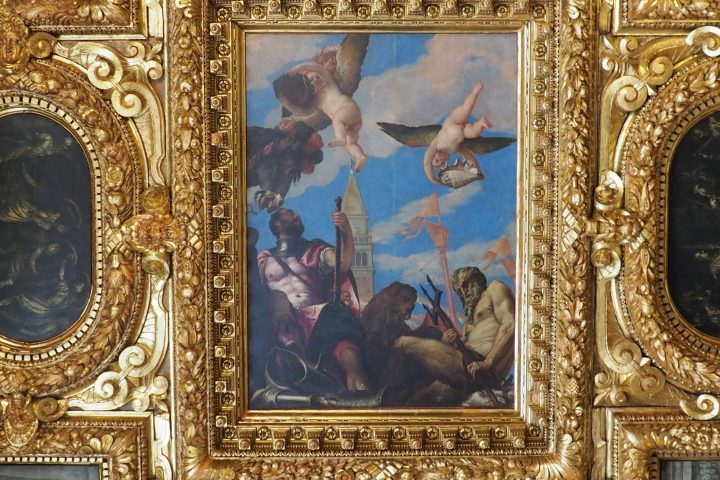 Paolo Veronese, ceiling of the Collegio room in the Doge's Palace