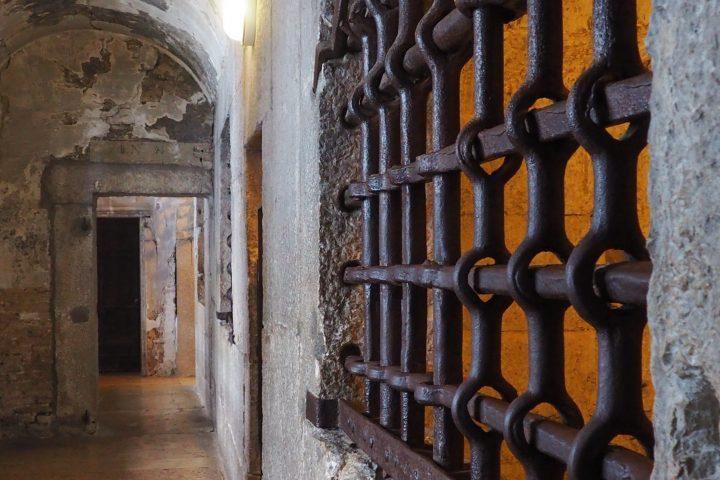 upper floor of the prison