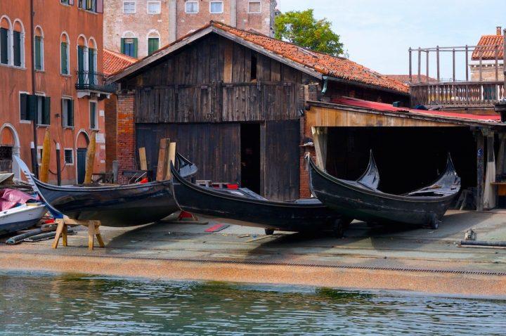 Squero di San Trovaso (chantier de gondoles), Venise