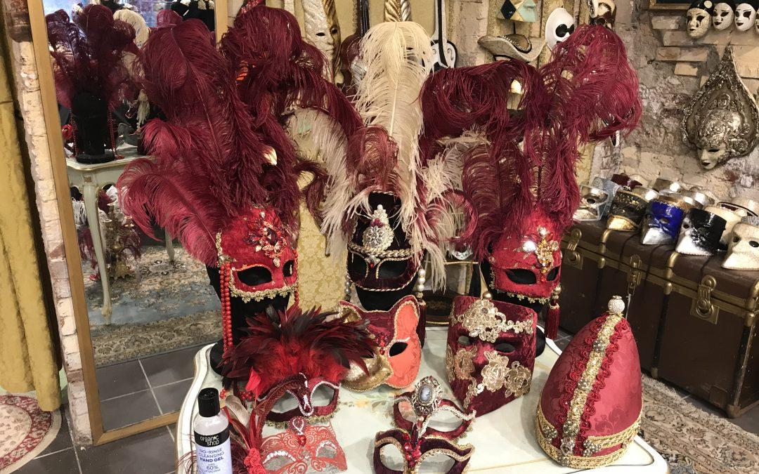 gorgeous Venetian masks