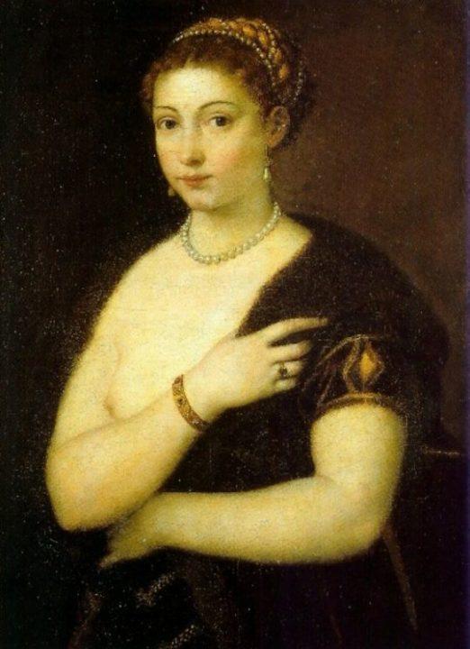 1. portrait de Veronica Franco