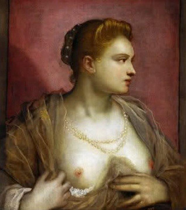 11. la beauté sophistiquée des courtisanes vénitiennes au XVIème siècle