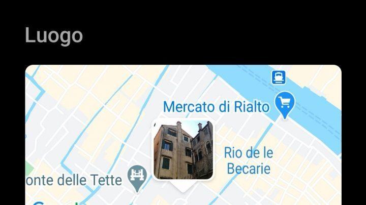 5. le lieu dit Castelletto non loin du Rialto