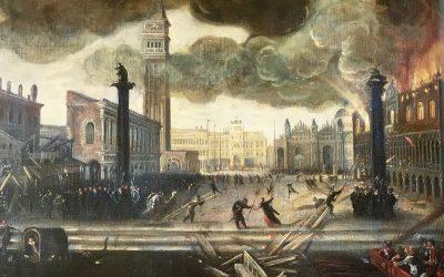 La conservación de las pinturas en Palacio Ducal, breve historia