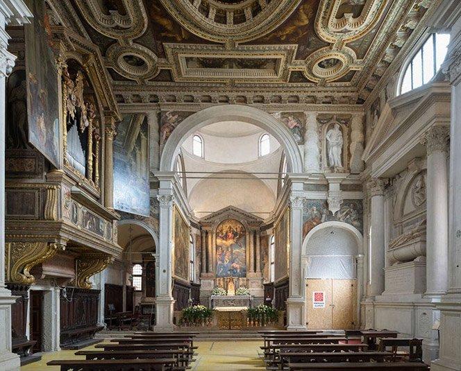 Pablo Veronés. Las pinturas en la iglesia de San Sebastian