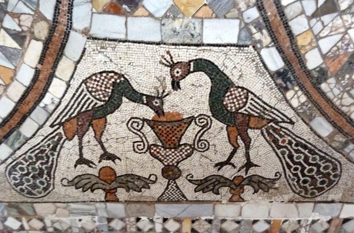 Santa Maria e Donato, Murano, détail du pavement