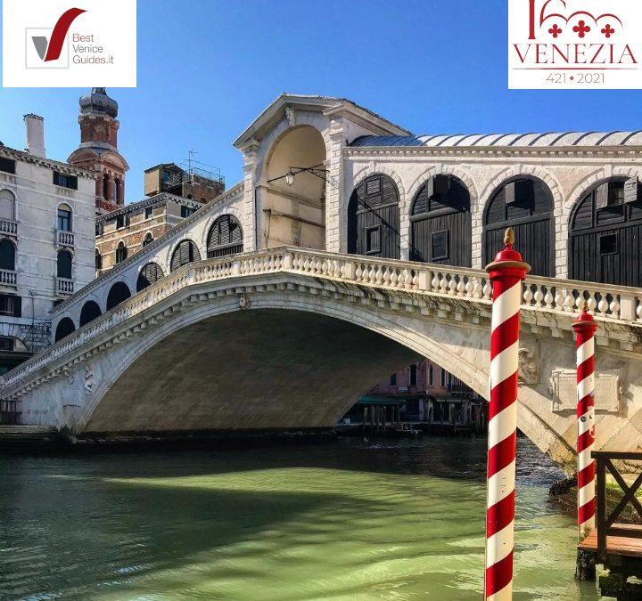 Buon compleanno Venezia, 1600 anni!